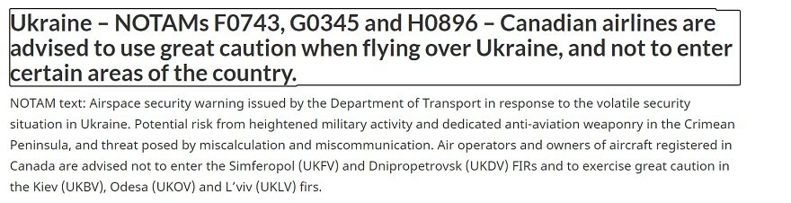 Аэропорт Днепра попал в зону риска из-за активизации вооруженных сил РФ, фото-1