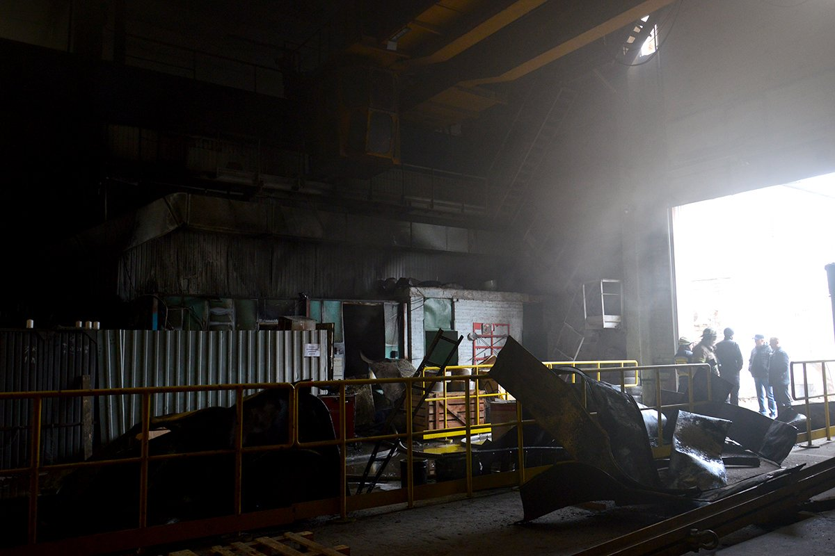 В Днепре горел еще один склад на предприятии: подробности, фото-1