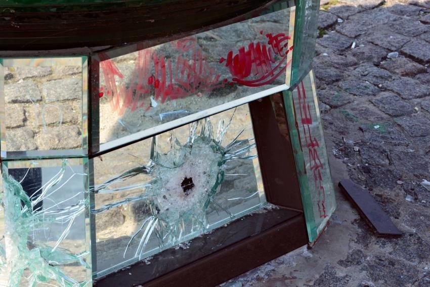 """В Днепре вандалы изуродовали Набережную и разбили """"шар желаний"""", фото-2"""