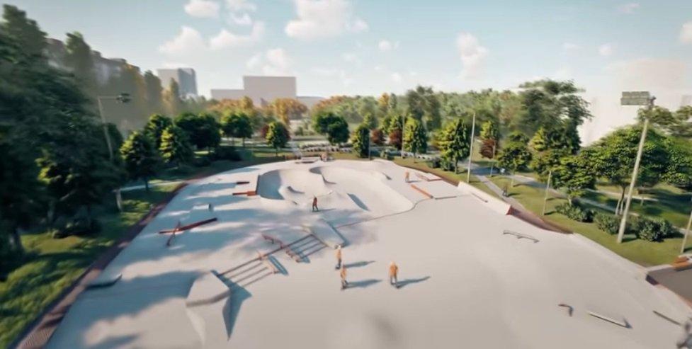 В этом году на левом берегу Днепра сделают большой скейт-парк, фото-1