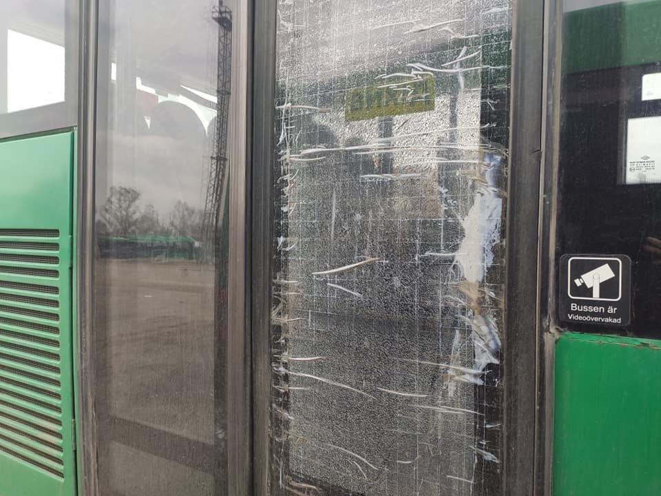 Разбитые окна и двери: в Днепре вандалы уничтожают новые автобусы, - ФОТО, фото-2