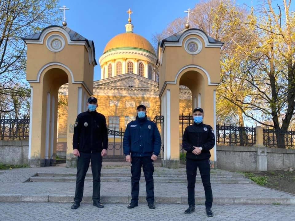 Вербное воскресенье в Днепре: люди у церквей и дежурство полиции, фото-2