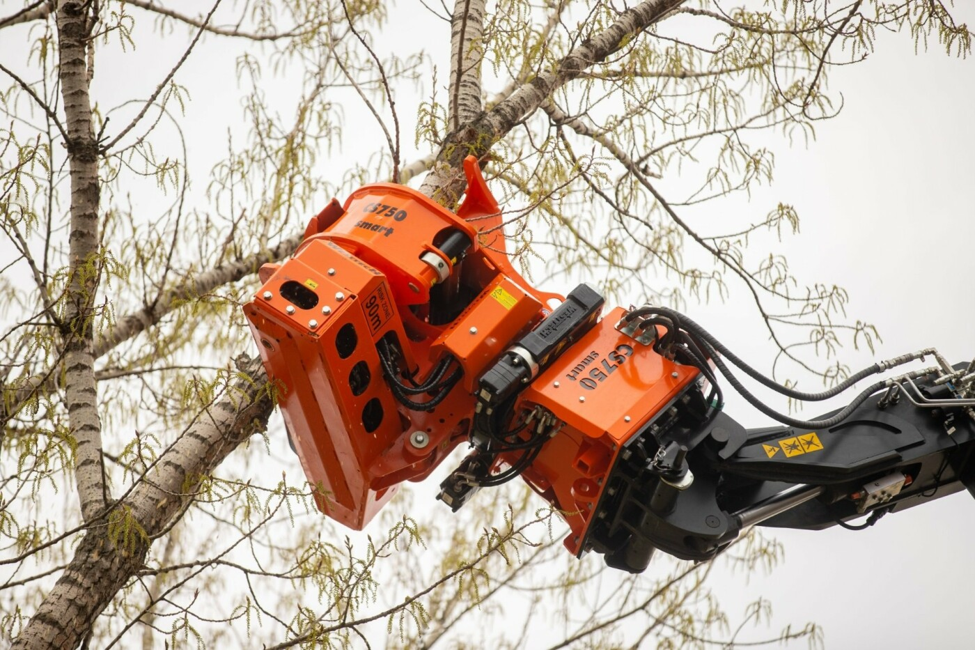 """В Днепре появился """"робот-трансформер"""" для устранения аварийных деревьев, - ФОТО, фото-1"""