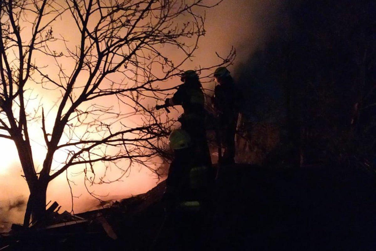 В Днепре произошел масштабный пожар  в частном доме: подробности, фото-1