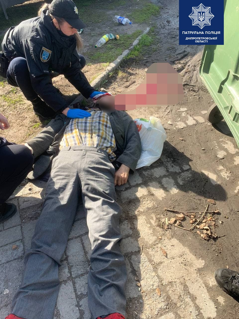 В центре Днепра у мужчины случился приступ: полиция спасала пострадавшего, фото-1