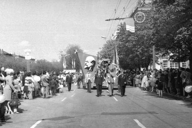 """Забастовки или масштабные гуляния: как в Днепре праздновали """"майские"""" 50 лет назад, - ФОТО, фото-4"""