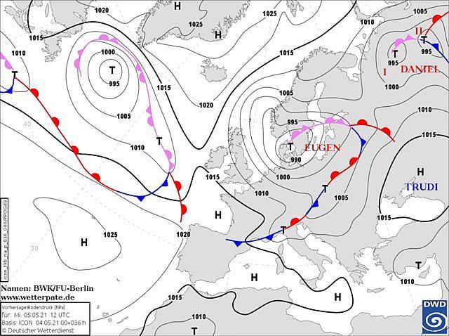 Накроет антициклон Trudi: узнай, какая погода будет в Днепре, фото-1