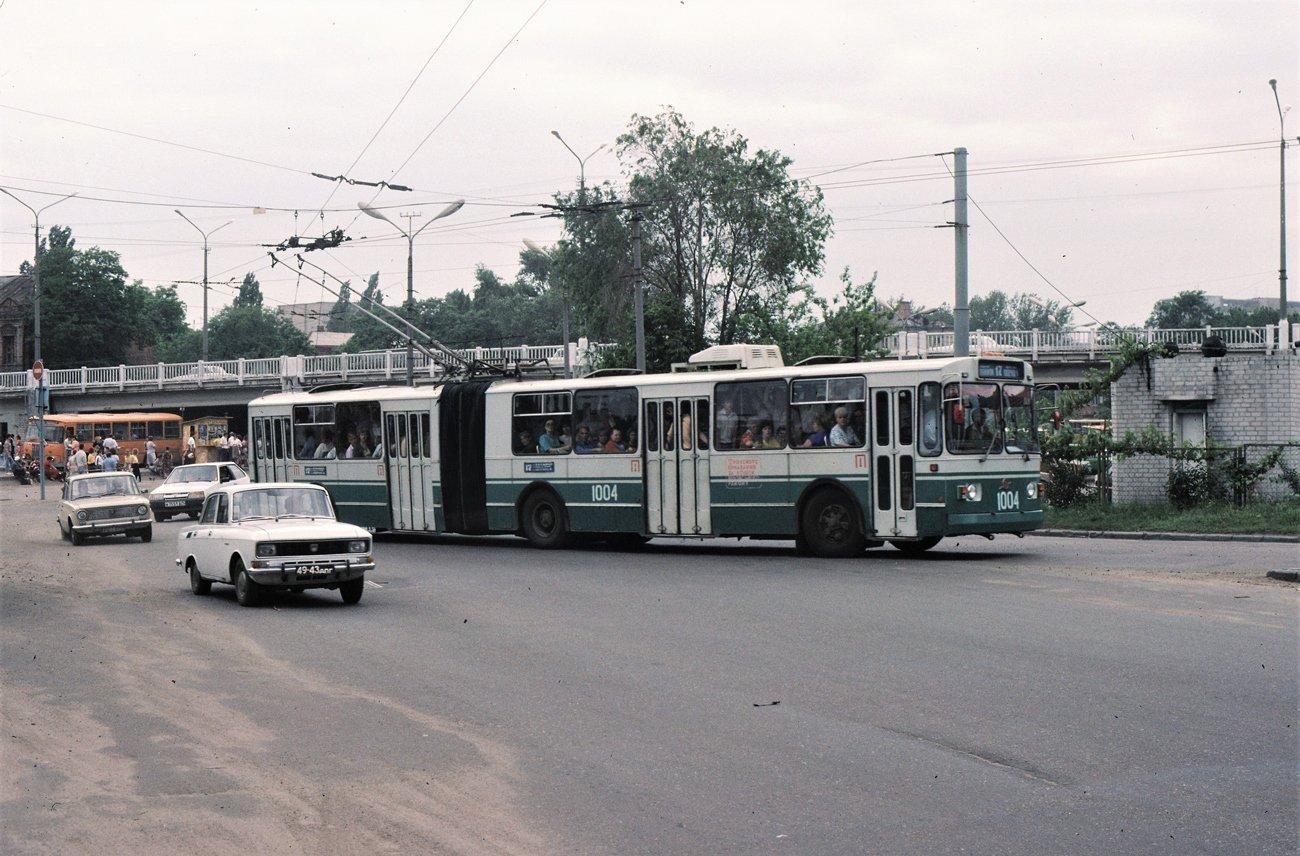 """""""Гармошки"""", ЛАЗы и """"квадратные"""" трамваи: на чем ездили днепряне в лихие 90-е, - ФОТО, фото-9"""