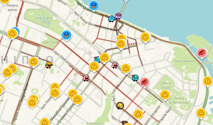 В Днепре из-за отключенных светофоров пробки по всему городу: какие улицы лучше объехать, фото-1