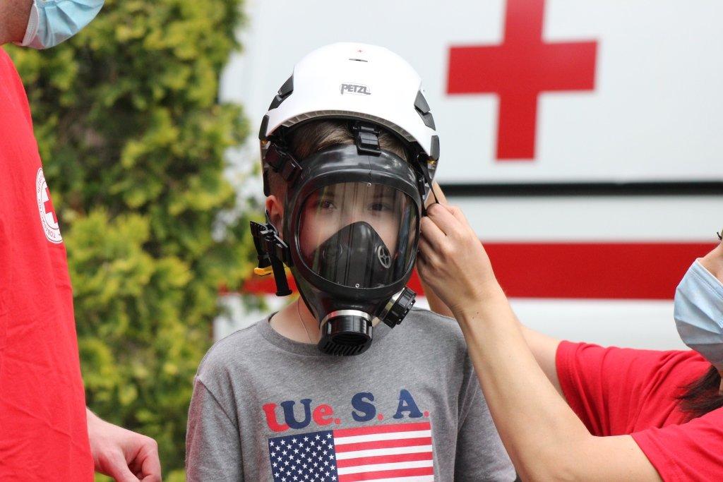 На Днепропетровщине спасатели провели масштабную благотворительную Акцию «Спасем Алису Шевчик», фото-15