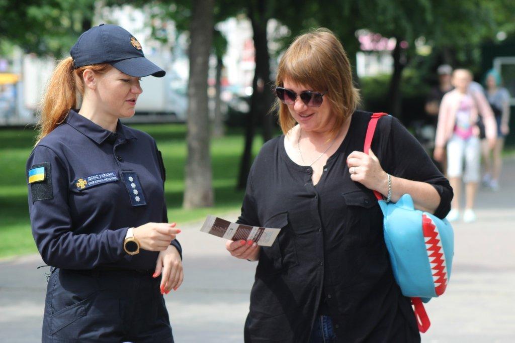 На Днепропетровщине спасатели провели масштабную благотворительную Акцию «Спасем Алису Шевчик», фото-11