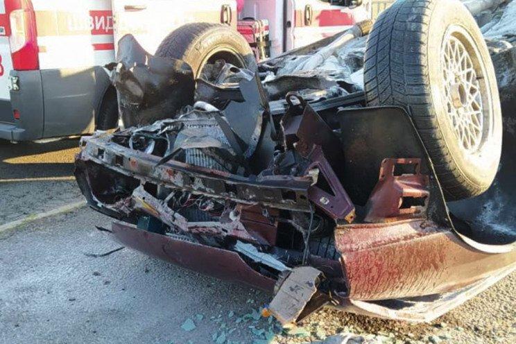 В Днепре утро спасателей началось с перевернутых машин, - ФОТО, ВИДЕО, фото-2