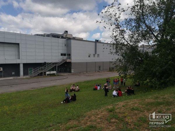 На Днепропетровщине экстренно эвакуировали посетителей торгового центра, фото-1