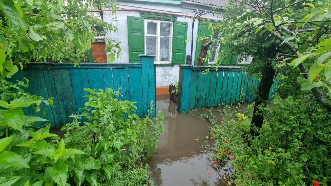 Поваленные деревья, затопленные дома и проспекты: в Днепре спасатели противостоят стихии, фото-2