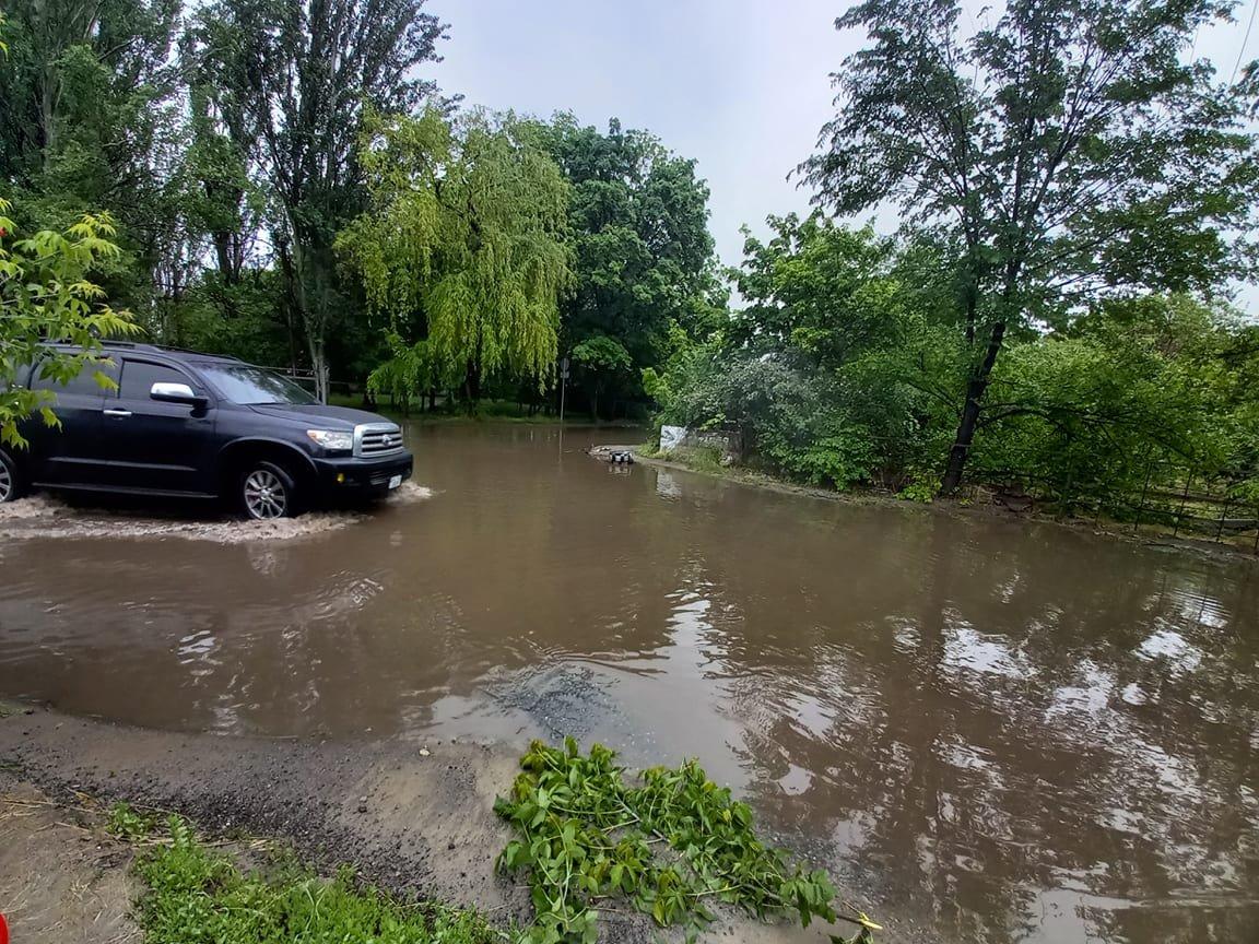 Итоги последствий непогоды: в Днепре затопило 90 домов, фото-1