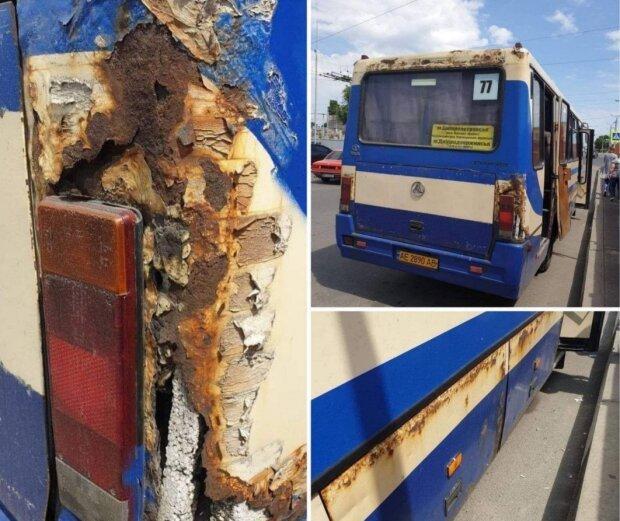 Маршрутка-зомби взяла в плен днепрян: автобус одного из маршрутов вызывает опасение у пассажиров, фото-1