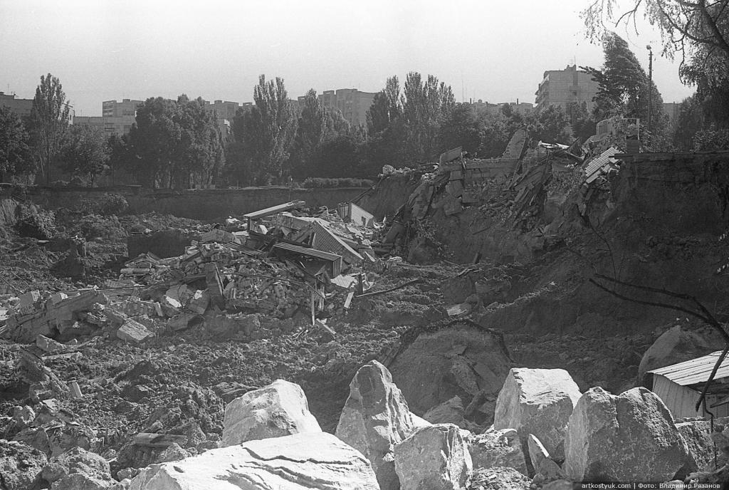 """Трагедия на """"Тополе"""" в Днепре: 24 года назад под землю ушли школа и многоэтажка, - уникальные фото, фото-5"""