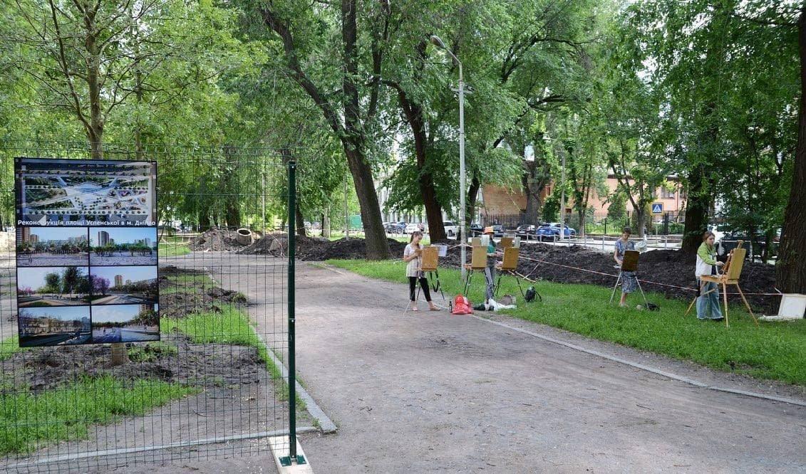 Фонтаны, беседки и зеленые зоны: как будет выглядеть Успенская площадь в Днепре, фото-4