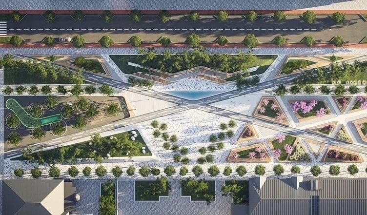 Фонтаны, беседки и зеленые зоны: как будет выглядеть Успенская площадь в Днепре, фото-1