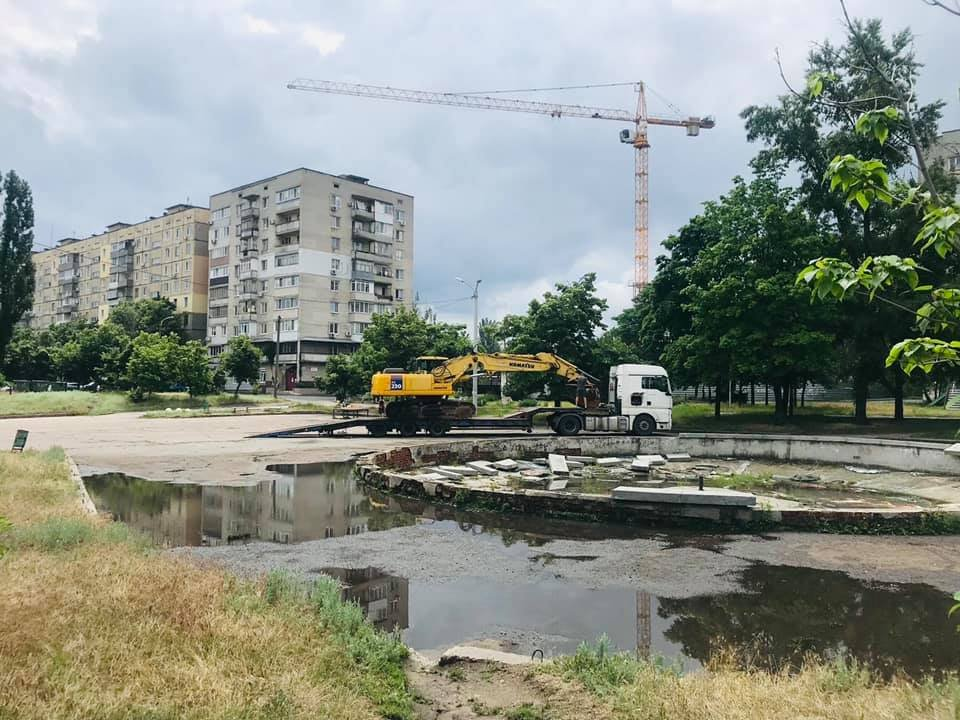 В Днепре вместо старого фонтана строят скейт-парк: подробности, фото-2