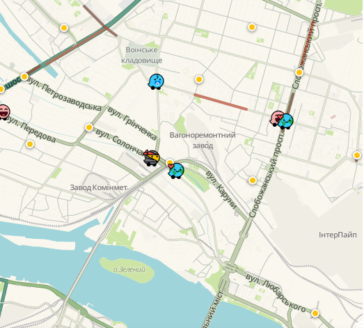 Пробки в Днепре: какие улицы сейчас стоят, фото-2