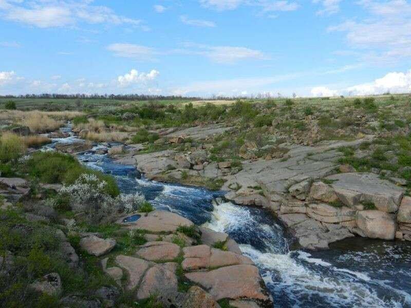 Степной феномен и каскад красоты: легенды уникального водопада под Днепром, фото-1