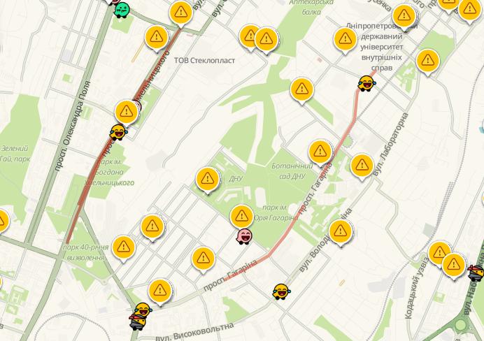 Пробки в Днепре: какие улицы сейчас «стоят», фото-3