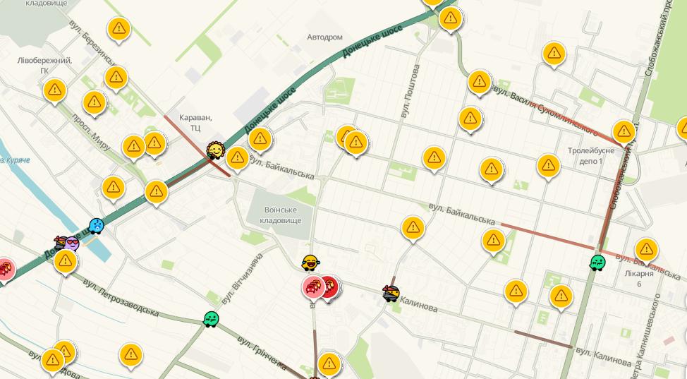 Пробки в Днепре: какие улицы сейчас «стоят», фото-4