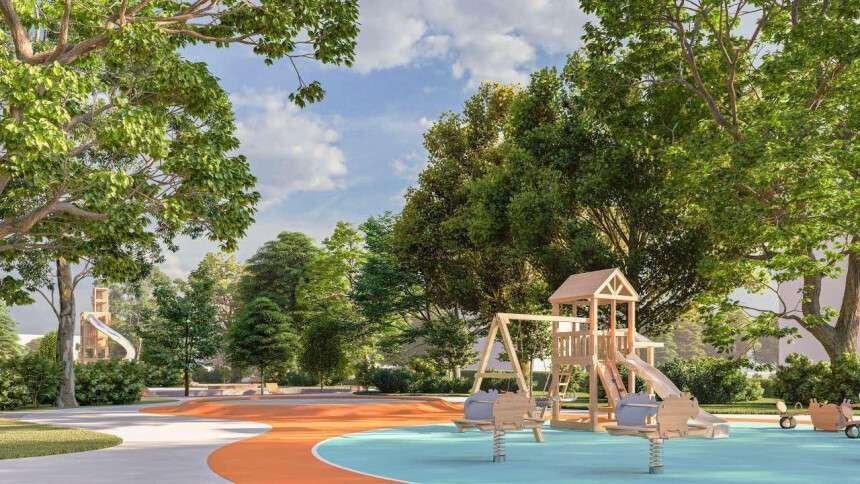 В Днепре на Левом берегу строят современный парк: подробности, фото-1