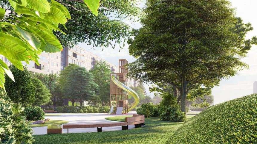 В Днепре на Левом берегу строят современный парк: подробности, фото-2