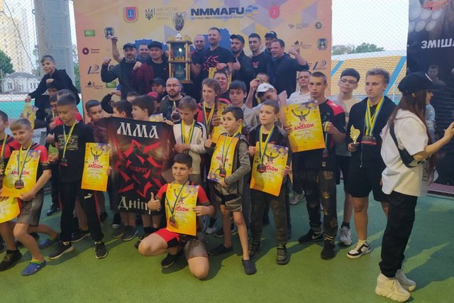 Сборная Днепропетровской области по ММА победила в чемпионате Украины , фото-5