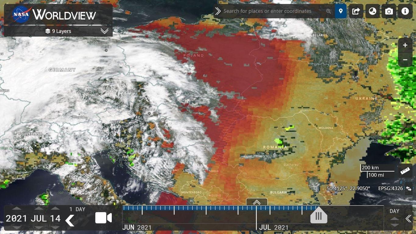 Днепр накроет пылевое облако из Сахары: прогноз метеоролога, фото-1
