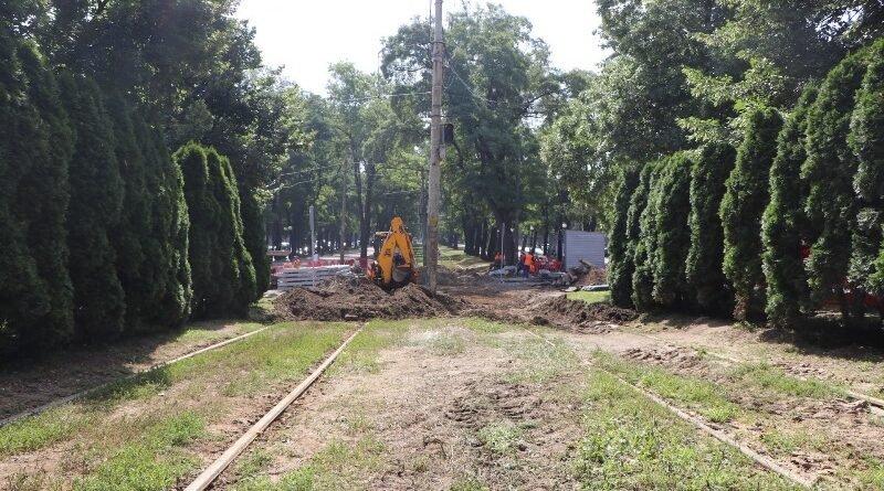 В Днепре из-за ремонта трамвайных переездов перекрыто движение, фото-1