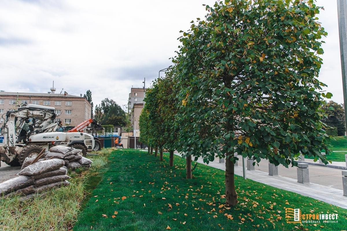 На левом берегу Днепра завершается строительство уникального сквера, - ФОТО, фото-3