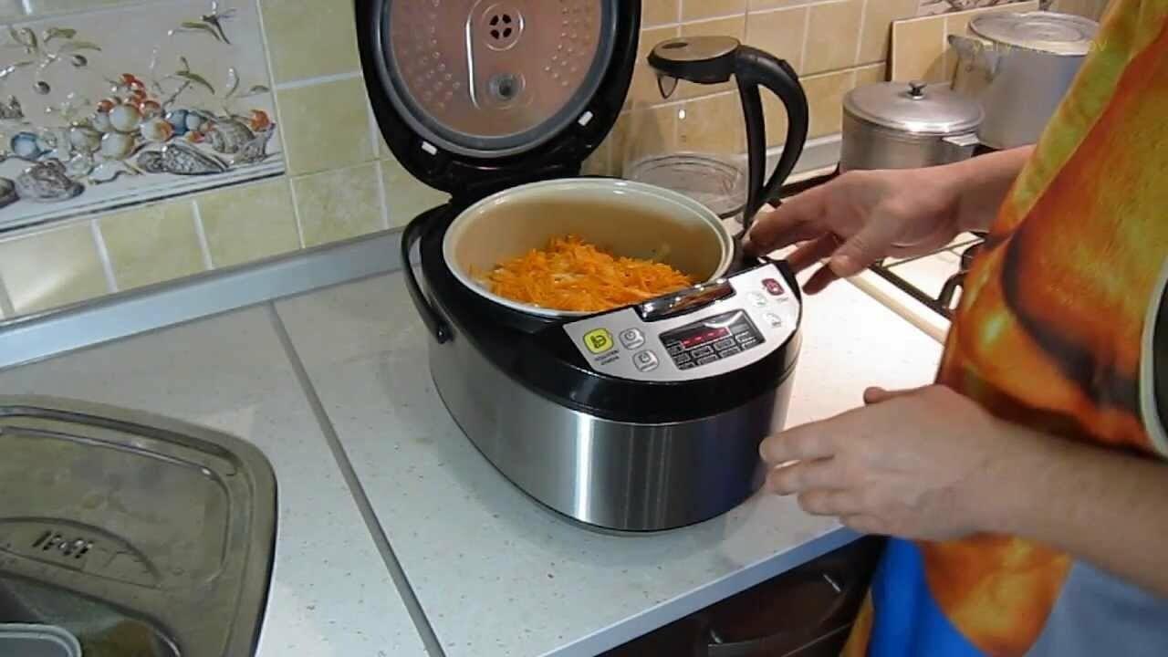 приготовление блюд в мультиварке редмонд