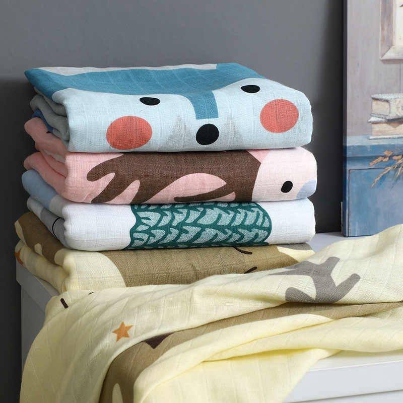 льняные простыни для детской кроватки с принтами